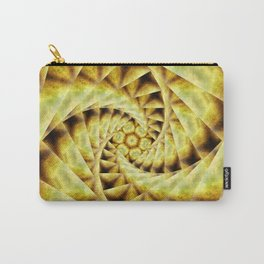 Smoky spiral stairs to floral centre Carry-All Pouch