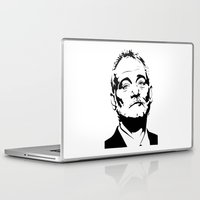 bill murray Laptop & iPad Skins featuring Bill Murray The Best by Spyck
