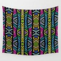 xoxo Wall Tapestries featuring XOXO by Klara Acel