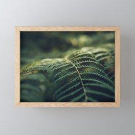Green and Golden Framed Mini Art Print