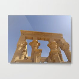 philae temple Metal Print