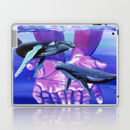 Humpback Herald Laptop & iPad Skin