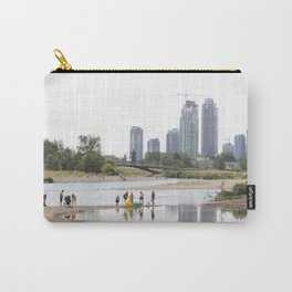 St. Patrick's Island river scene Calgary Carry-All Pouch