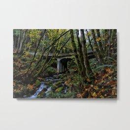 Chuckanut Drive Bridge Metal Print