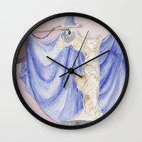 nike Wall Clocks featuring Nike by Katerina Skassi