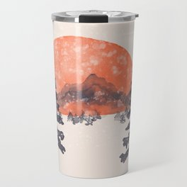 First Snow... Travel Mug