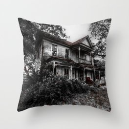 A House In The Trees Throw Pillow