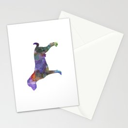 Harrier in watercolor Stationery Cards