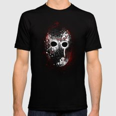 Happy Friday the 13th Mens Fitted Tee Black MEDIUM