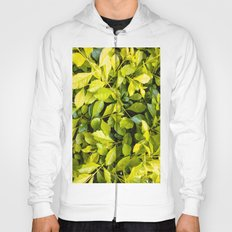 Too much green leaves Hoody
