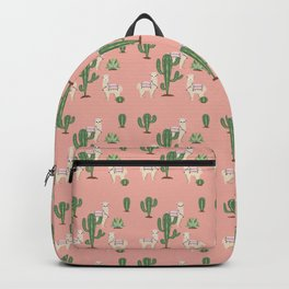Alpaca with Cacti Backpack
