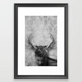 Oh Deer, Me Framed Art Print