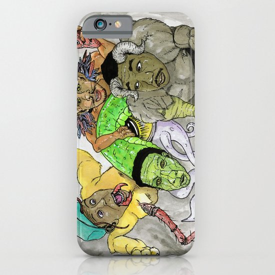 """Rella"" by Cap Blackard iPhone & iPod Case"