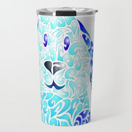 Blue Lapinou Travel Mug