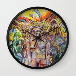 """""""Before the Zohar, an Angel appears to give the first couple Knowledge."""" Wall Clock"""