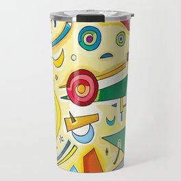 Abstract Composition 2 Travel Mug