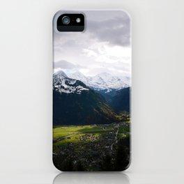Paradise Mountains iPhone Case