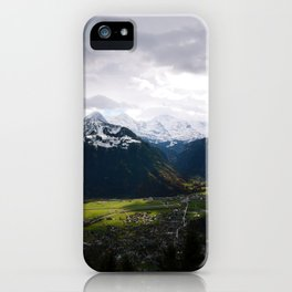 Paradise Mountains iPhone Case