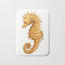 Sea horse, Horse of the seas, Seahorse beauty Bath Mat