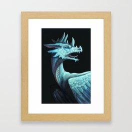Pale dragon Framed Art Print