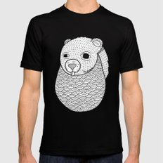 Mr. Rupel's Most Ingenuous Beard for Bears  Black X-LARGE Mens Fitted Tee