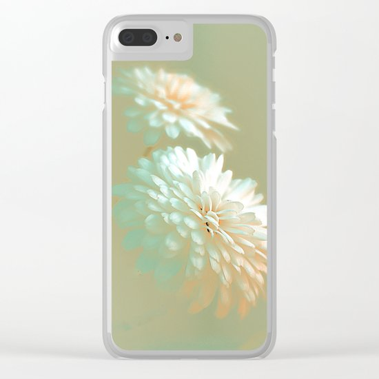 Chrysanthemum(sunshiny) Clear iPhone Case