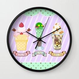 FF Frozen Treats Wall Clock