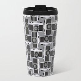 35mm Camera Pattern Travel Mug