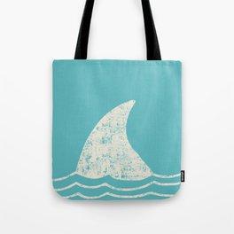 Beach Series Aqua - Shark Animal in the deep See Tote Bag