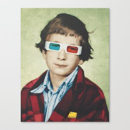 Classmates - Billy Canvas Print
