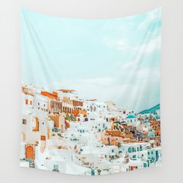 Travelers || #photography #greece Wall Tapestry