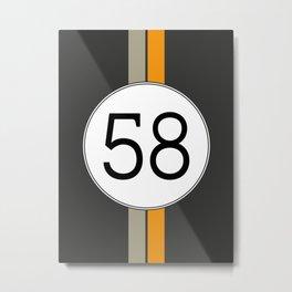 Rally 58 Metal Print
