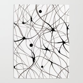 Abstraction lines Poster