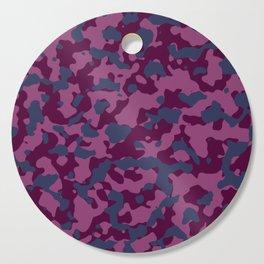 Berry Pretty Camouflage Cutting Board