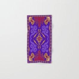 Aladdin Purple Magic Carpet Hand & Bath Towel