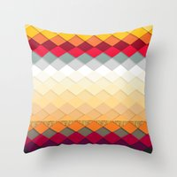 fireworks Throw Pillows featuring Fireworks by Kakel