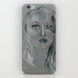 wild woman of the woods iPhone Skin