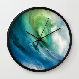 Rolling Wave Wall Clock