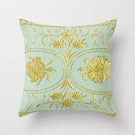 sunshine over versailles Throw Pillow