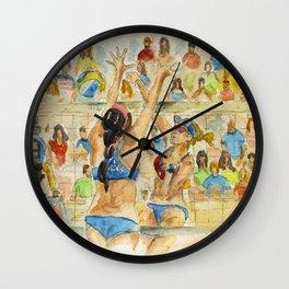 Kerri Walsh Jennings - Pro Beach Volleyball player Wall Clock
