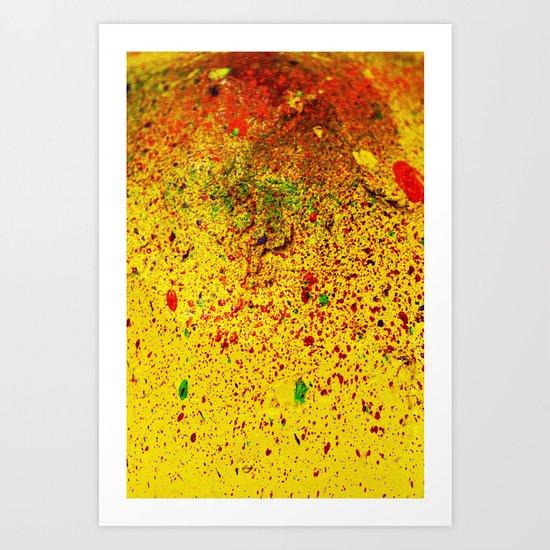 Crater 3 Art Print