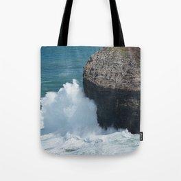 Cliff at Kilauea Lighthouse in Kauai Tote Bag