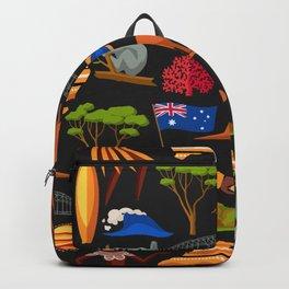 Australia Pattern Backpack