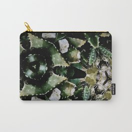 Succulents on Show No 1 Carry-All Pouch