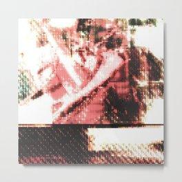 Le Procope - Glitch 02 Metal Print
