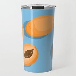 still life of apricots Travel Mug