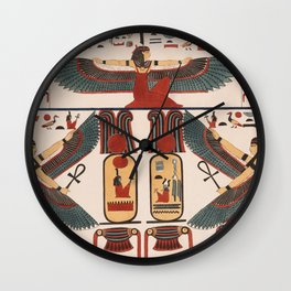 Ancient Egyptian pattern design Wall Clock