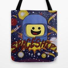 Spaceship!  Tote Bag