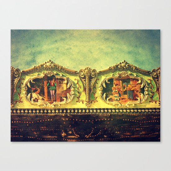 Auf dem Jahrmarkt (1) Canvas Print
