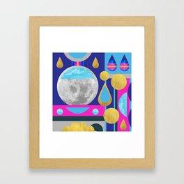 Abstractions No. 3: Moon Framed Art Print